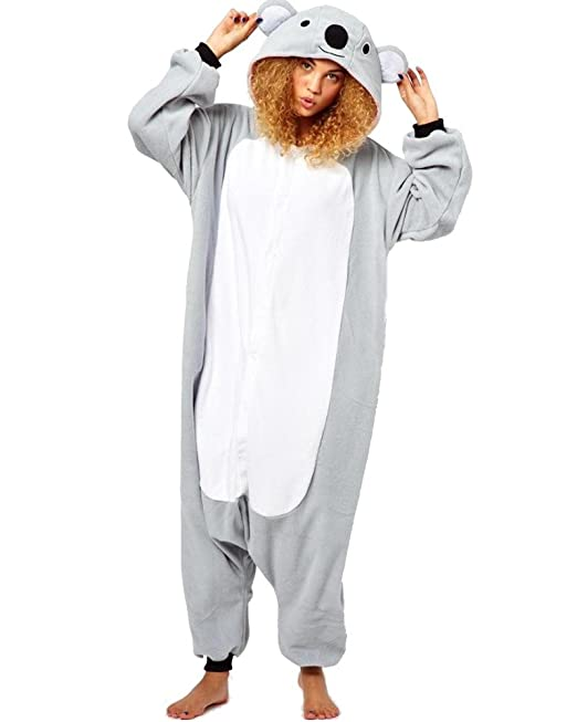 Samgu Koala Unisex disfraz Anime animal cosplay Onesie adultos dibujos animados pijama pijamas de Fiesta
