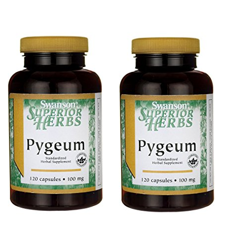 Swanson Pygeum 500 mg 120 Caps 2 Pack