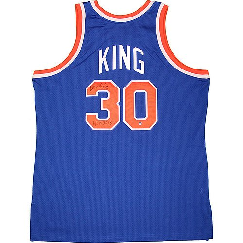 Bernard-King-New-York-Knicks-Signed-Blue-Jersey-with-HOF-2013-Inscription-Certified-Authentic-Autograph