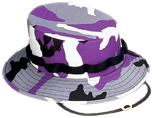 Jungle Rothco Hat (Ultra Violet Camouflage Military Jungle Hat 5474 Size Medium)