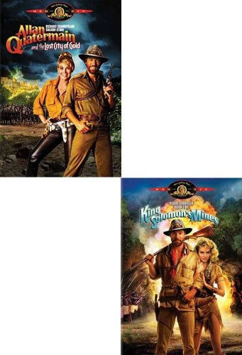 Allan Quatermain And The Lost City Of Gold / King Solomon's Mines (2 Pack)