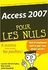 Access 2007 par Ulrich Fuller
