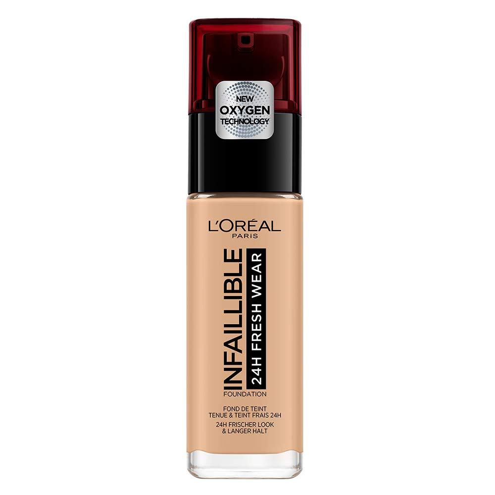 L'Oréal París Base de Maquillaje de Larga Duración Infalible 24H* - Tono 125 Naturel Rose L' oreal 3600523614516