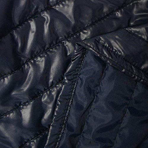 Cappotto Giacche Piumino Incappucciato Dunkelblau Lunga Leggero Autunno Giacca Manica Packable Casual Donna Fashion Transizione Trapuntata Invernali Di Giovane Fit Slim cqwRxWqgUZ