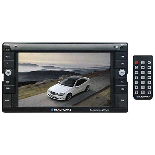 Blaupunkt SACRAMENTO290MC Double Din Touch Screen Multimedia Receiver - 6.1 in.