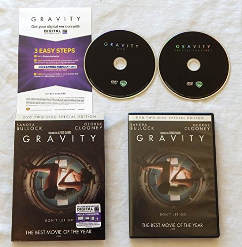 Amazon com: Gravity Two-Disc SPECIAL EDITION Wide Screen DVD