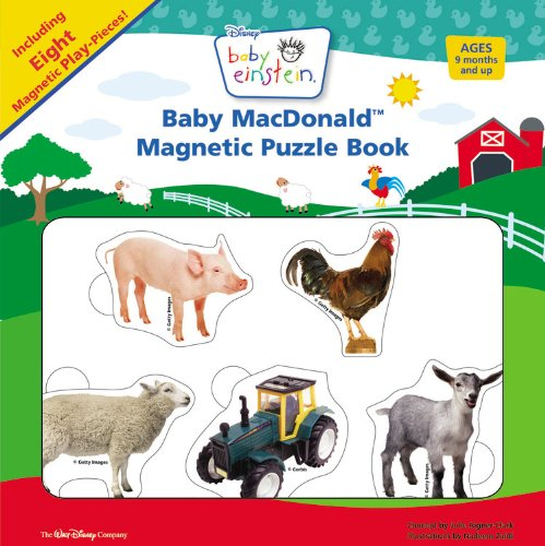 Read Online Baby MacDonald Magnetic Puzzle Book (Baby Einstein) ebook