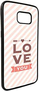 I love you Printed Case for Galaxy S7