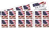 #3: US Flag USPS Forever Stamps - 40 Stamps (two books of 20)
