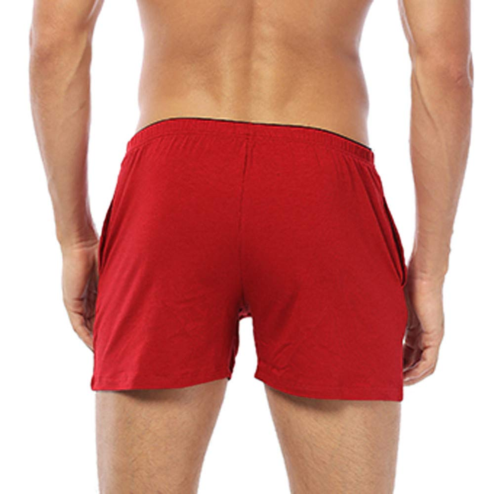 96f44d474fc2 Clearance! Elogoog Men's Swimming Trunks Boxer Brief Swimsuit Seamless Swim  Underwear Boardshorts with Pockets at Amazon Men's Clothing store: