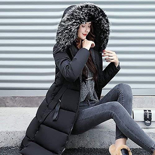 Tomwell Hiver Doudoune Zipp Manteau Femme Capuche Fourrure avec 87q8dwr