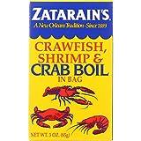 Zatarains Seafood Boil - Crawfish Shrimp and Crab - In a Bag - 3 oz - case of 12