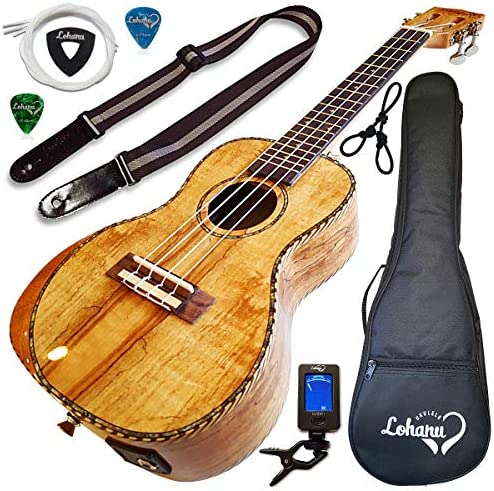 Ukulele Amazing Looking Spalted Electric product image