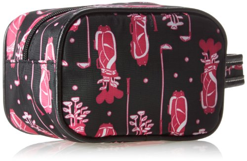 Sydney Love Fuchsia Golf Ladies Caddy Bag Cosmetic Case,Multi,One Size by Sydney Love (Image #2)