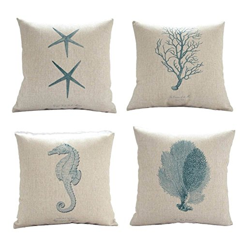 tobson-cotton-linen-ocean-park-theme-decorative-pillow-cover-case-18-x-18-inch-pack-of-4