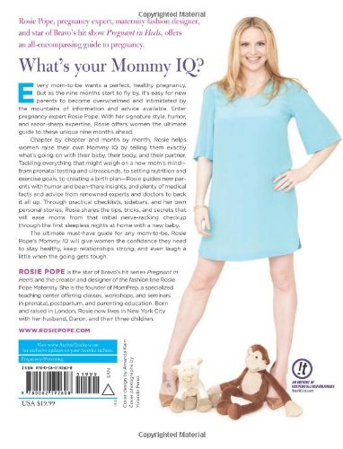 2d04af588a524 Mommy IQ  The Complete Guide to Pregnancy  Rosie Pope  9780062192608   Amazon.com  Books