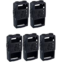 Retevis 2 Way Radio Case Holster Protection for Baofeng BF-UV5R UV-5RV UV-5RE UV5R+ UV-985 Retevis RT-5R RT-5RV WalkIe Talkies (5 Pack)