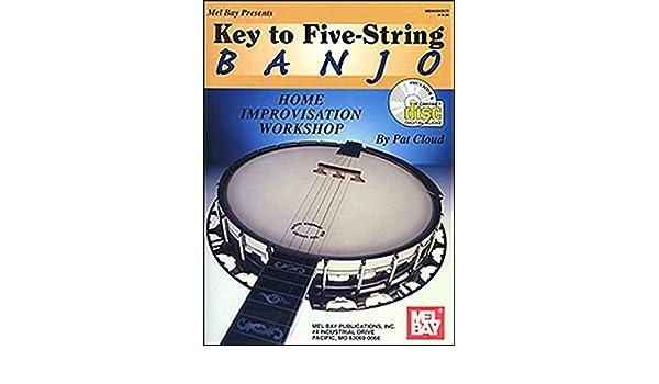 Home Improvisation Workshop Key to Five-String Banjo Book/CD Set ...