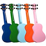 Hamano U-30 Colorful Soprano Ukuleles - 24 Pack