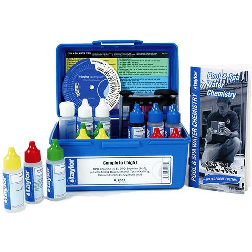 Taylor K2005 Professional Complete Test Kit for Chlorine DPD by Taylor