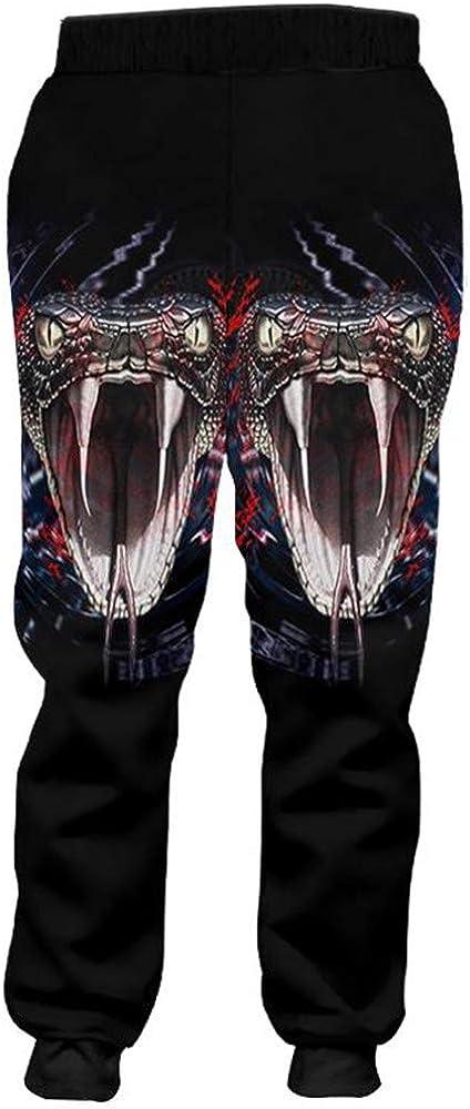 Pantalones de chándal Hip Hop para Hombre Pantalones Harem 3D de ...