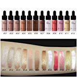 Makeup Highlighter Illuminator Contouring Liquid Brightener Bronzer Luminous Shimmer Glow Illuminator Glitter Face Contour Makeup Cosmetic (11)