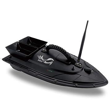 Flytec Fishing Bait RC Boat 500m Remote Fish Finder 5.4km//H Dual Motor Hull 2.4G