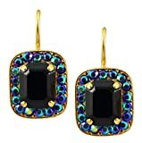 Mariana-Grease-Lightning-Gold-Plated-Rectangle-Swarovski-Crystal-Drop-Earrings