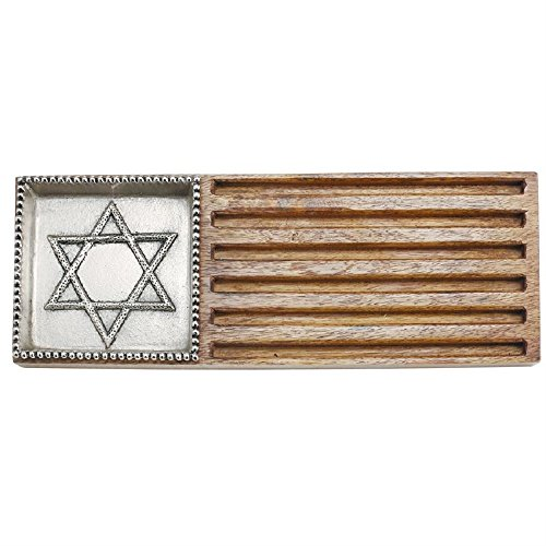 Mud Pie Star of David Bread Board Set -