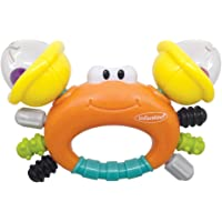 Infantino Sand Crab Rattle & Teether