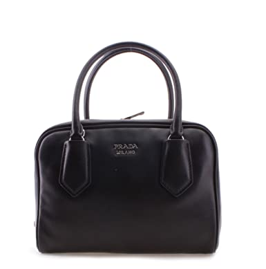 bd28f1c958d5 Image Unavailable. Image not available for. Color  Prada Milano Leather  Tote Womens Handbag Shoulder Bag ...