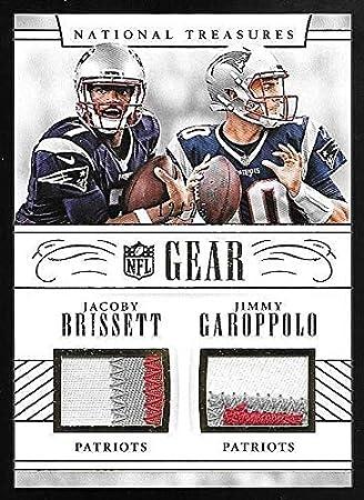 brand new 5b2e2 337b5 Amazon.com: 2016 Treasures NFL Gear #18 Jacoby Brissett ...