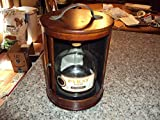 """Pyrat Rum Solid Wood Display ROUND 8.5"""" Carrying"""