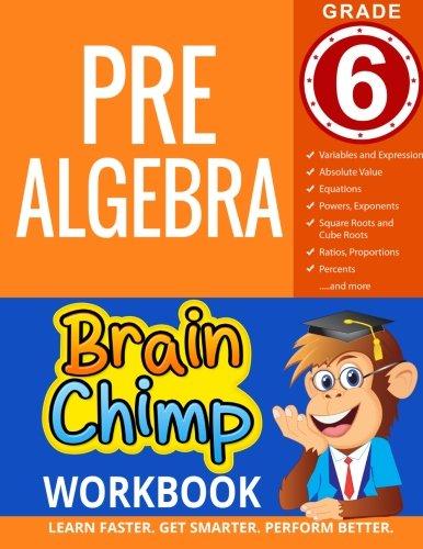 Read Online Pre-Algebra : Grade 6 Math Workbook PDF