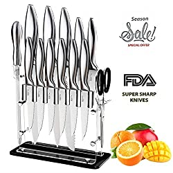 Chicago Cutlery Designpro Vs Stone Boomer 14 Pc Stainless Steel