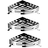 A Bathroom Items Placed Rack Do Not Punch The Installation 304 Stainless Steel Triangle Shelf Storage Rack (29.5 Cm 21.5 Cm) ( Merchandise quantity : 3 )