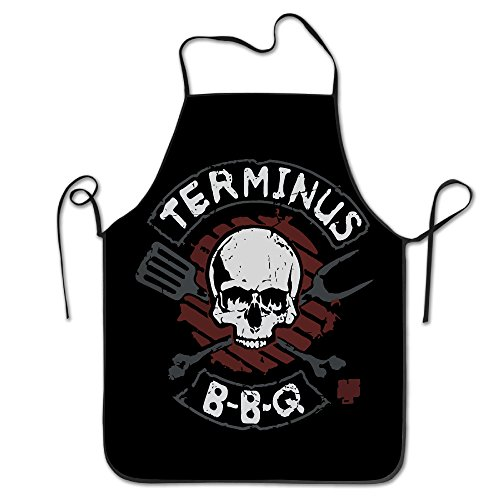 [Vintage Love Bbq Kull Kitchen Aprons Black] (Toddler Gardener Costume)