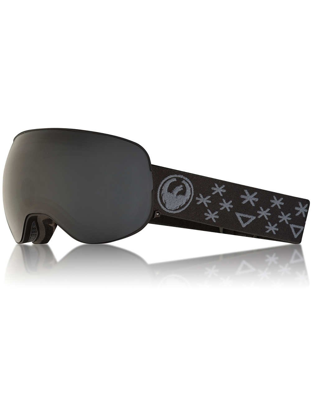 Dragon X2 Snow Goggles One Size Bryan Iguchi ~ Dark Smoke by Dragon