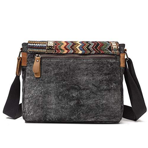 uomo tela con armygreen 30 a tessuto 24cm casual tracolla ayng 10 borsa di per Zaino Wy tracolla Armygreen vintage laptop 4wC7xFqZE