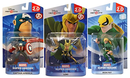 Disney Infinity 2.0: Captain America / Loki / Iron Fist (Toy) by Disney Infinity