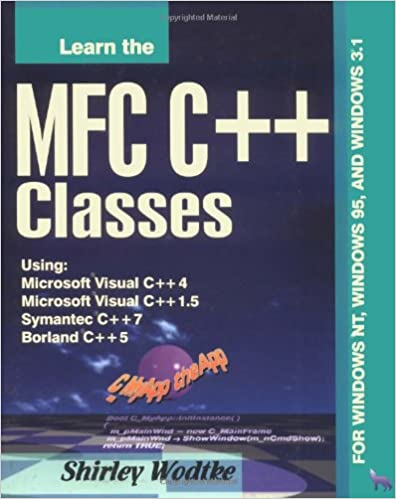 Learn the Mfc C+ Classes