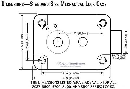 sargent and greenleaf 6730 100 safe lock kit door lock replacement