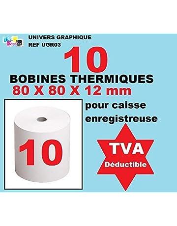 Bobina Térmica – 80 x 80 x 12 – paquete de 10 para rodillo para caja