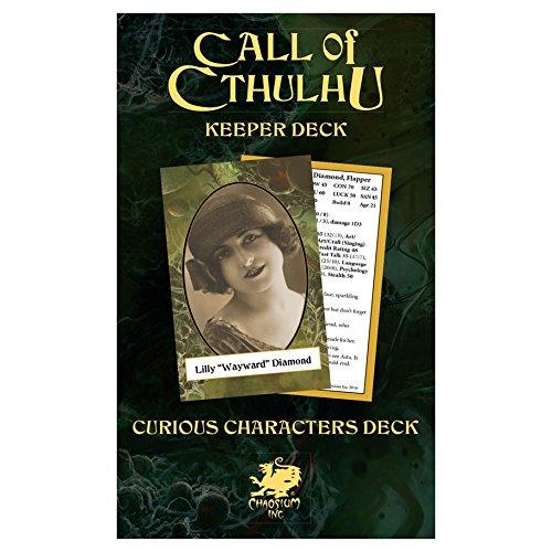 - Call of Cthulhu: Keeper Decks