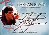 Orphan Black Season 1 Autograph Card JG Jordan Gavaris as Felix Dawkins
