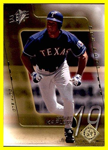2001 SPx #158 Gabe Kapler texas rangers]()