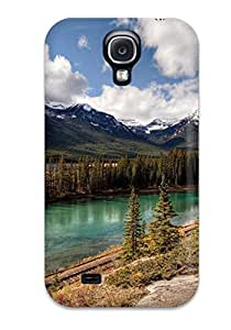 Hot 7850969K61058059 Durable Defender Case For Galaxy S4 Tpu Cover(earth Landscape)