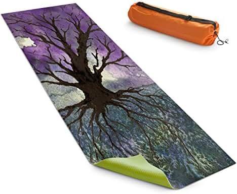 DiaNoche Yoga Mats by Brazen Design Studio Tree Of Life