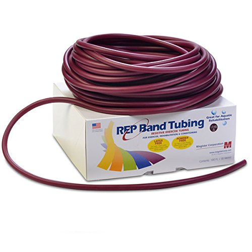 Medical Line REP Band Exercise Tubing (Plum 100 Ft)