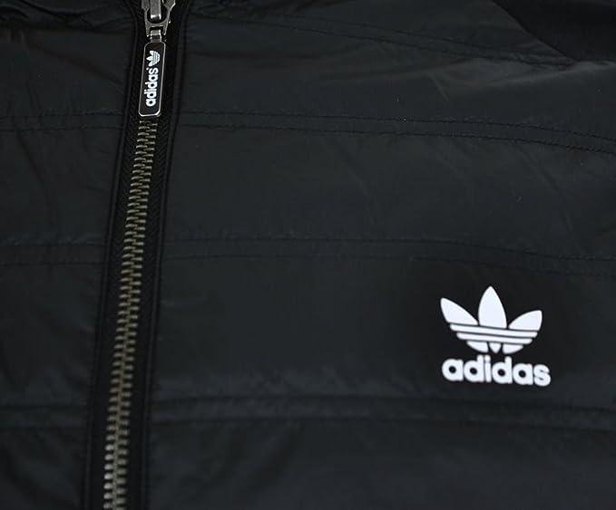 adidas Originals Mens SST Thermal Track Jacket in Black
